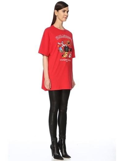 Vetements Tişört Kırmızı
